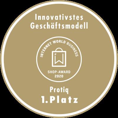 Shop-Award - Innovativstes Geschäftsmodell - 1. Platz