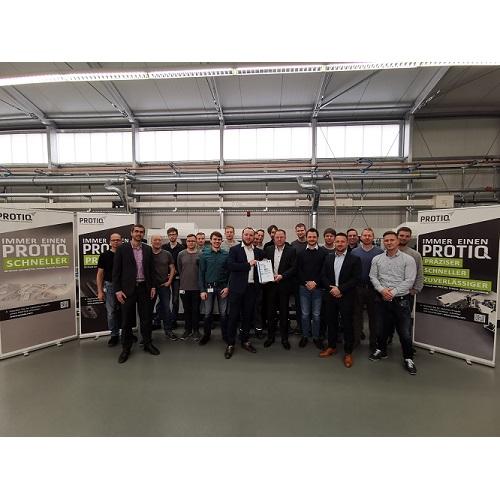 PROTIQ ist jetzt industrielle additive Fertigungsstätte mit TÜV SÜD-Siegel